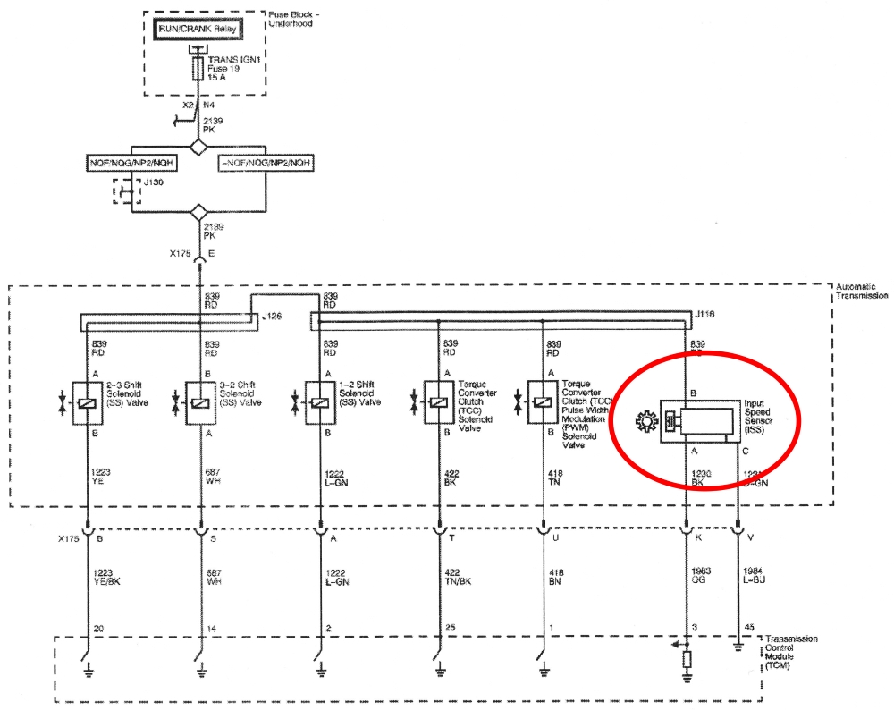 Recent Diagnostic Trends The Transletter E40d Wiring Harness Testing Figure 1