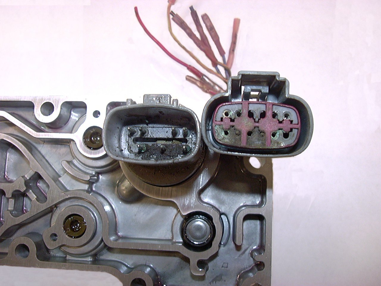 47re bad wiring harness causing governor pressure spikes