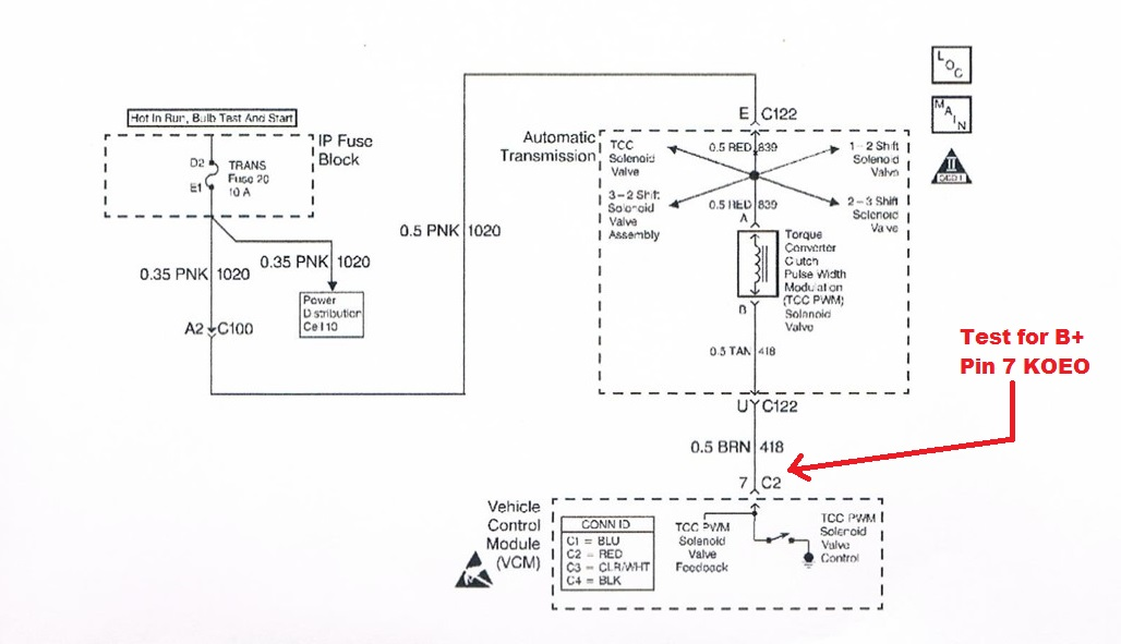 fig 1?w=558 heat damaged harness causing p1860 code 4l80e the transletter 4l80e wiring harness diagram at mr168.co