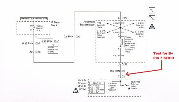 Heat-Damaged Harness Causing P1860 Code – 4L80E   The ... on 4l80e pump diagram, 4l80e speed sensor diagram, 4l80e electrical diagram, 4l80e neutral safety switch diagram, 4l60e automatic transmission parts diagram, 4l60e transmission exploded view diagram, 4l80e transmission diagram, 4l80e solenoid diagram,